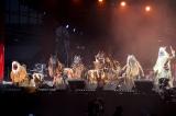 ももいろクローバーZ『桃神祭2016 〜鬼ヶ島〜』2日目公演より photo by HAJIME KAMIIISAKA+Z