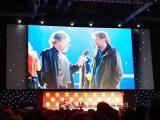 撮影現場でギャレス・エドワーズ監督がルーク・スカイウォーカー(マーク・ハミル)と会ったことを証明する写真を公開 (C)ORICON NewS inc.