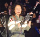 映画『ゴーストバスターズ』日本語吹き替え版3D特別上映会に出席した椿鬼奴 (C)ORICON NewS inc.