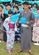 映画『青空エール』のイベントに登場した(左から)土屋太鳳、竹内涼真 (C)ORICON NewS inc.