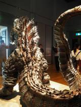 『大ゴジラ特撮王国 YOKOHAMA』で展示されている『シン・ゴジラ』2メートル立像 (C)ORICON NewS inc.