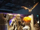 『大ゴジラ特撮王国 YOKOHAMA』で展示されている『ゴジラ VS モスラ』のジオラマセット (C)ORICON NewS inc.