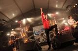「RISING SUN ROCK FESTIVAL 2011 in EZO」に登場した怒髪天 (C)柴田恵理