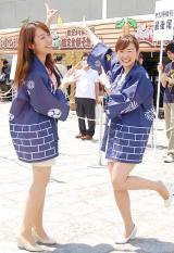 (左から)須黒清華アナ、狩野恵里アナ (C)ORICON NewS inc.