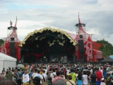 『RISING SUN ROCK FESTIVAL 2015 in EZO』レッドスターフィールド