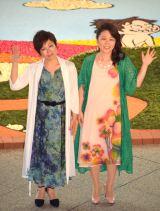映画『アーロと少年』の友情の日イベントに出席したKiroro(左から)金城綾乃、玉城千春(C)ORICON NewS inc.