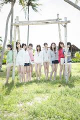 乃木坂46グアムでビーチファッション披露(C)主婦と生活社 (C)ORICON NewS inc.