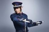 映画『曇天に笑う』で犲の隊長・安倍蒼世を演じる古川雄輝