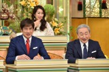 (左から)フリーアナウンサーの羽鳥慎一、橋本大二郎氏(C)テレビ朝日
