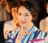 『秘密 THE TOP SECRET』公開記念舞台あいさつに出席した栗山千明 (C)ORICON NewS inc.