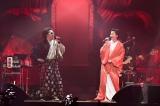 レキシが日本武道館公演で和装の松たか子と共演 Photo by 田中聖太郎