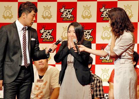 『キングオブコント2011』決勝に進出したトップリードの代役のマネージャー (C)ORICON DD inc.