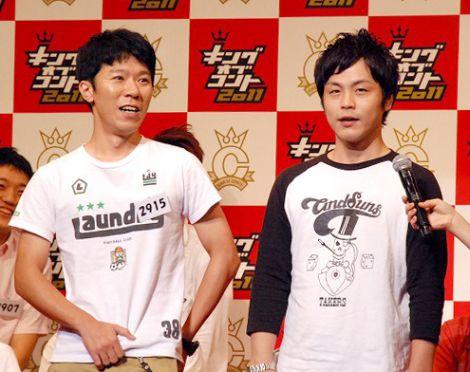 『キングオブコント2011』決勝に進出したモンスターエンジン (C)ORICON DD inc.