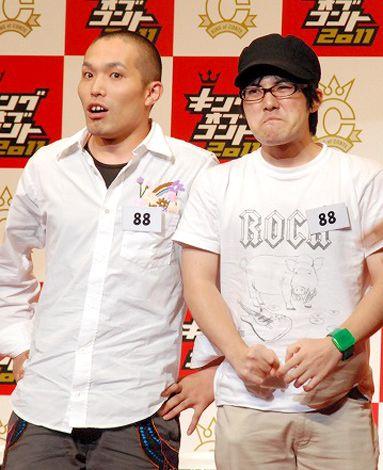 『キングオブコント2011』決勝に進出したラブレターズ (C)ORICON DD inc.