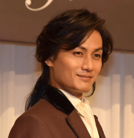 ミュージカル『フランケンシュタイン』製作発表記者会見に出席した加藤和樹(C)ORICON NewS inc.