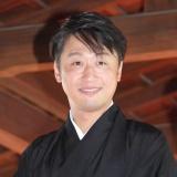 来月「二代目喜多村緑郎」を襲名する市川月乃助=『九月新派特別公演』成功祈願