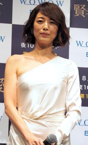 高岡早紀=WOWOW『連続ドラマW 賢者の愛』完成披露試写会 (C)ORICON NewS inc.