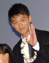 映画『青空エール』初日舞台あいさつに出席した竹内涼真 (C)ORICON NewS inc.
