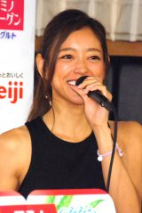 『ASAYOGA(美肌ヨガ)in 東京タワー大展望台』に登場した松本莉緒 (C)ORICON NewS inc.