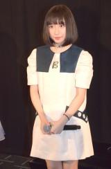 映画『戦車ライド アトラクション4D』のMX4D戦車先行試乗会イベントに出席した吉田凜音 (C)ORICON NewS inc.