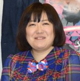 舞台『さがり』制作発表囲み会見に出席した黒沢かずこ(C)ORICON NewS inc.