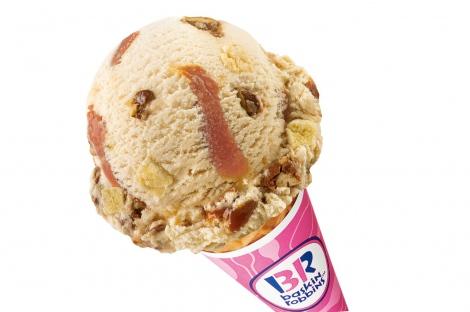 サムネイル サーティワン アイスクリームの9月の新作『キャラメル ベルジャンワッフル』