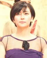 2017年度NHK大河ドラマ『おんな城主 直虎』新出演者発表会見に出席した柴咲コウ (C)ORICON NewS inc.