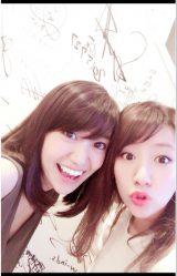 大島優子&高橋みなみの久々の2ショットにファンが歓喜(写真は高橋みなみオフィシャルブログより)