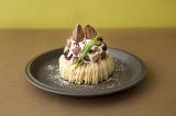 「J.S.PANCAKE CAFE」から発売の秋スイーツ『和栗のモンブランパンケーキ』