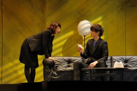 (左から)高岡早紀、松坂桃李\u003d松坂桃李\u003d舞台『娼年