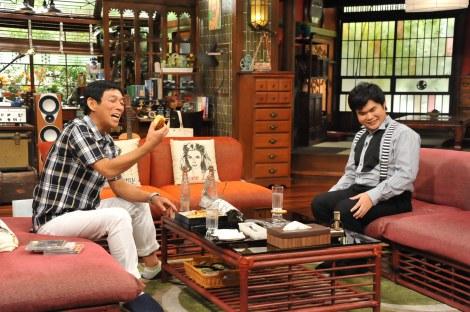 関西テレビ・フジテレビ系『さんまのまんま』に辻井伸行が初登場(C)関西テレビ