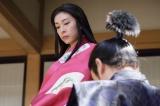 NHK大河ドラマ『真田丸』第34回「挙兵」より。茶々のもとに現れた三成は…(C)NHK
