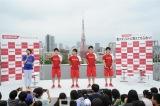 リオ五輪で団体金メダルを獲得した日本男子体操チームのメンバー5人のうち、コナミスポーツクラブに所属する(左から)内村航平、山室光史、田中佑典、加藤凌平の4選手がイベントに参加