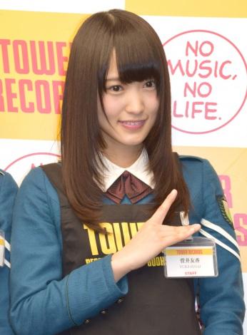 欅坂46・菅井友香\u003dデビューシングル「サイレントマジョリティー」リリース記念・
