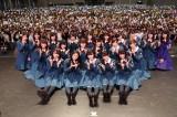 1万人を動員見込みの欅坂46全国握手会 (4月17日=千葉・幕張メッセ)