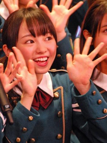 今泉佑唯\u003d欅坂46デビューシングル「サイレントマジョリティー」発売記念全国