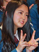 鈴本美愉=欅坂46デビューシングル「サイレントマジョリティー」発売記念全国握手会 (C)ORICON NewS inc.