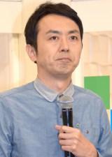 NHK『七人のコント侍』第14期メンバーのお披露目取材会に出席したアンガールズ・田中卓志 (C)ORICON NewS inc.