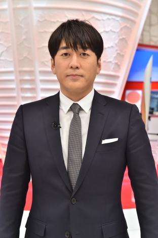 『ものづくり日本の奇跡 日の丸テクノロジーがオリンピックを変えた 元気が出る60年物語』に出演する安住紳一郎アナウンサー (C)TBS