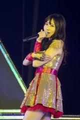『NMB48コンサート2016 Summer 〜いつまで山本彩に頼るのか?』に出演した矢倉楓子(C)NMB48