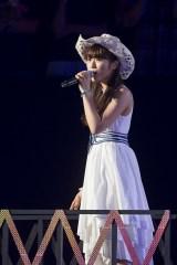 『NMB48コンサート2016 Summer 〜いつまで山本彩に頼るのか?』に出演した渋谷凪咲(C)NMB48