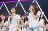 NMB48オリジナルメンバーの(左から)山本彩、岸野里香(C)NMB48