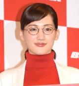 アイスホッケー女子日本代表・スマイルジャパンへエールを送った綾瀬はるか (C)ORICON NewS inc.