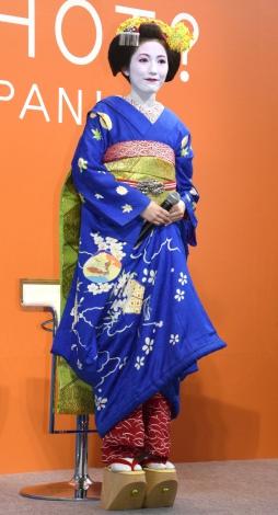 舞妓姿で登場したAKB48・渡辺麻友=トヨタ『CROWN JAPAN FESTA in 代官山』トークセッション (C)ORICON NewS inc.