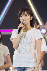 11月からソロライブツアーを行う山本彩=『NMB48 リクエストアワー セットリスト ベスト235 2016』最終公演で発表(C)NMB48