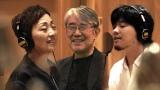 クミコの新曲MVに松本隆氏(中央)、秦基博(右)も登場