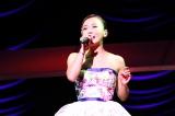 全国ツアー東京公演でファンに交際宣言した華原朋美(27日=東京・NHKホール) 撮影:HAJIME