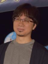 アニメ映画『君の名は。』公開記念舞台あいさつに出席した新海誠監督