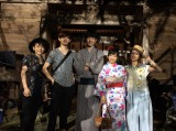 映画『君と100回目の恋』のオフショットが公開(左から)泉澤祐希、竜星涼、坂口健太郎、miwa、真野恵里菜