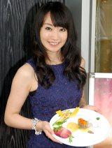 愛媛あかね和牛を中心としたレストランキャンペーンのキックオフイベントに出席した水樹奈々 (C)ORICON NewS inc.